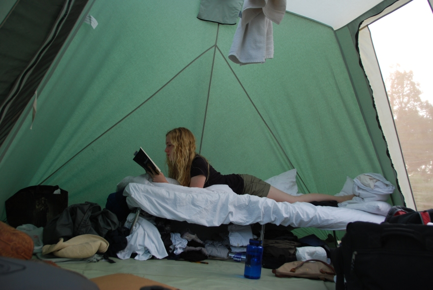 Tent Living www.bluemesablog.com