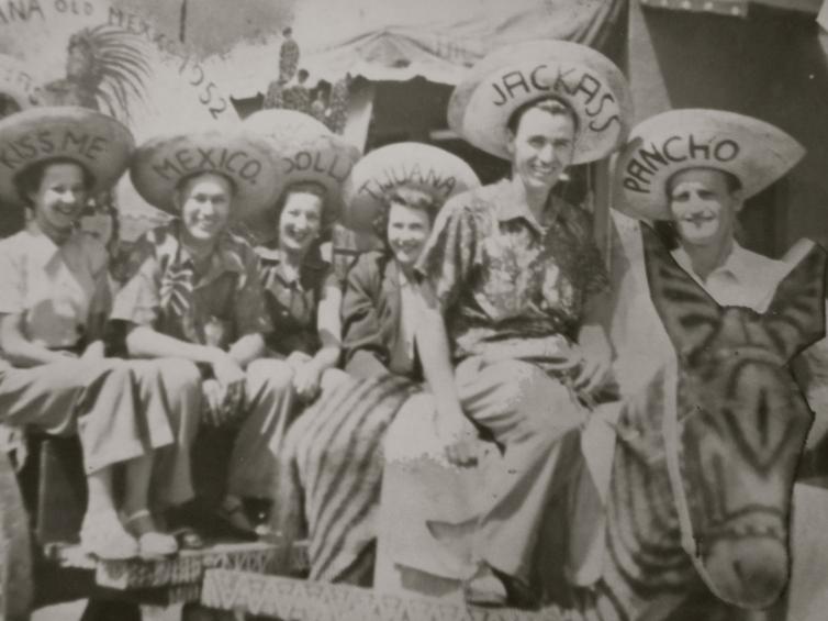 Mexico, 1930's www.bluemesablog.com