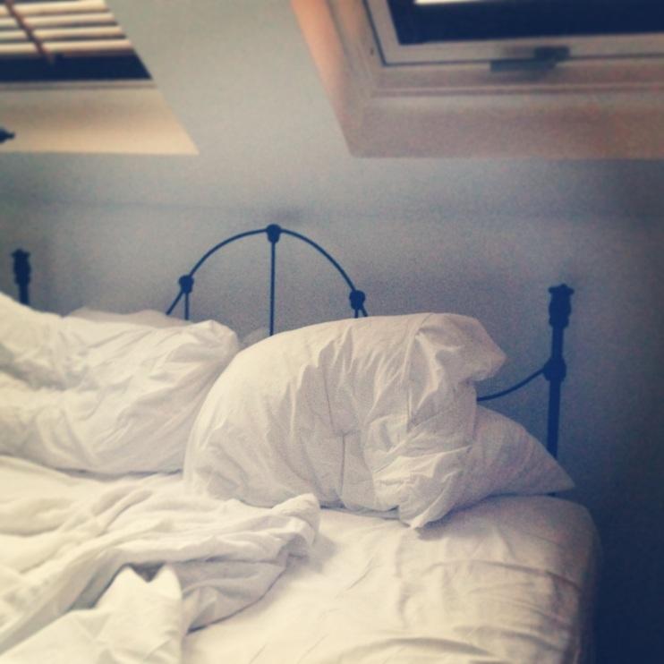 Unmade Beds www.bluemesablog.com
