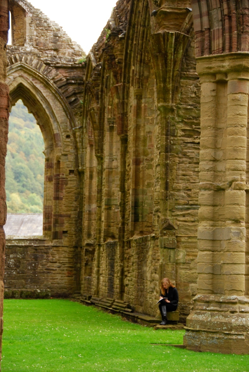 Tintern Abbey www.bluemesablog.com