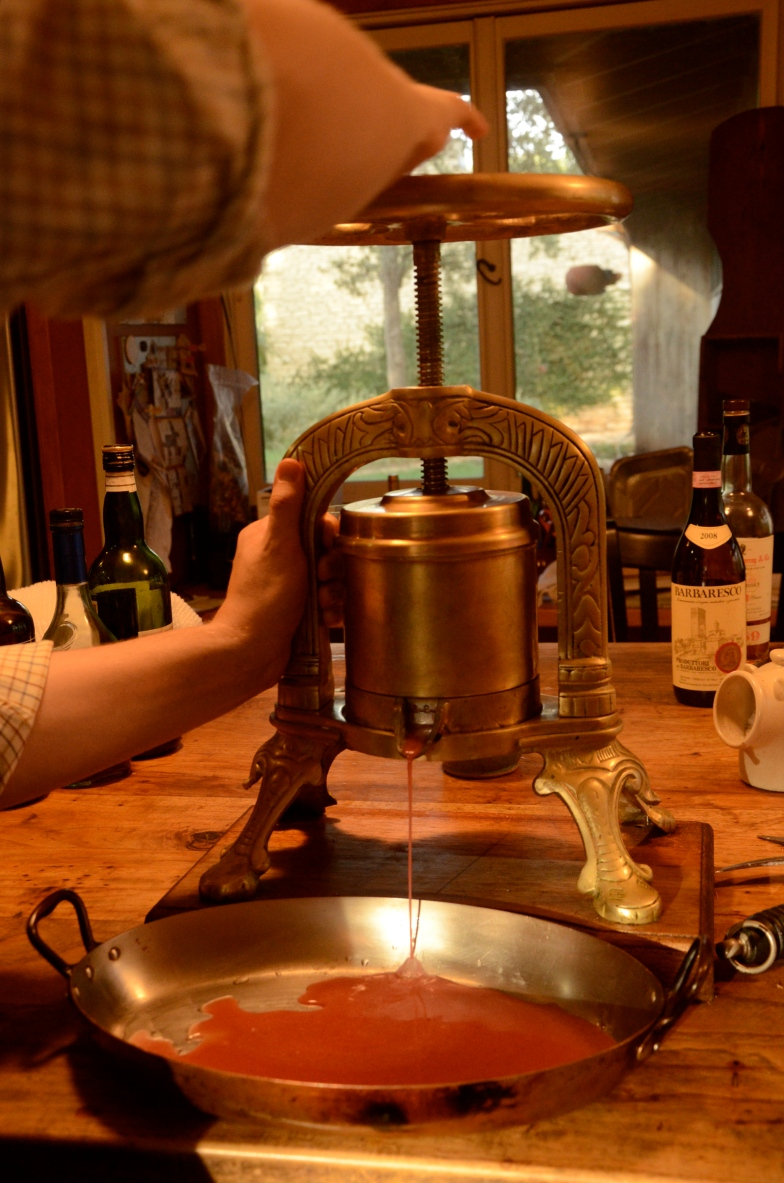 Duck a la Presse www.bluemesablog.com