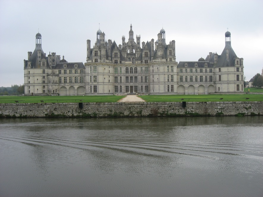 The Chateau de Chambord www.bluemesablog.com