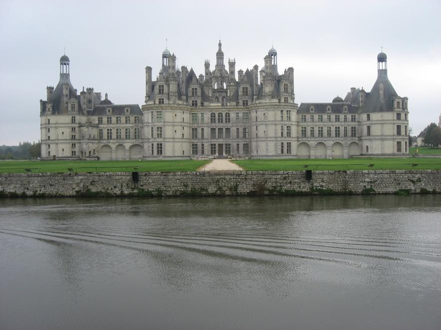 The Chateau de Chambord www.bluemesablog.com