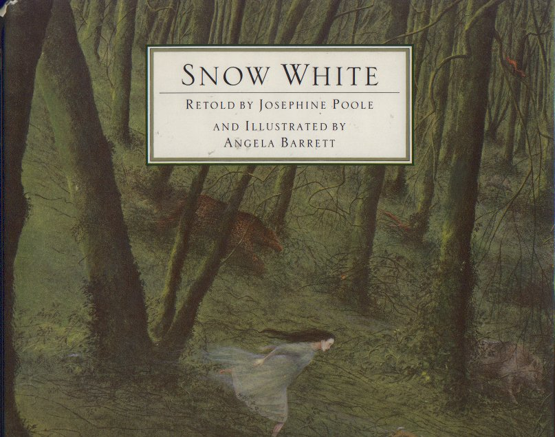 Snow White by Josephine Poole and Angela Barrett www.bluemesablog.com