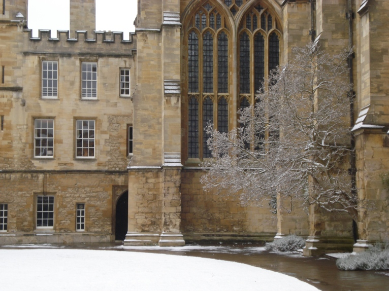 Oxford in Winter www.bluemesablog.com