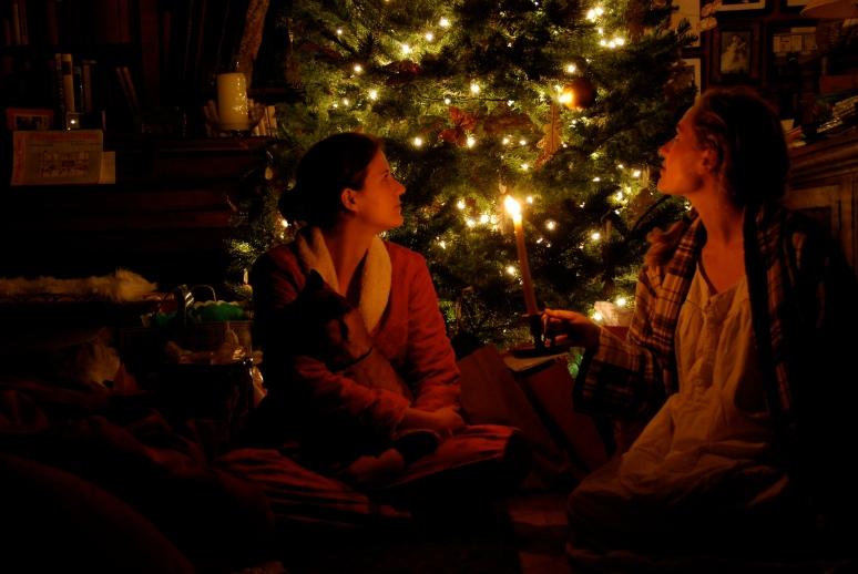 Christmas Eve www.bluemesablog.com
