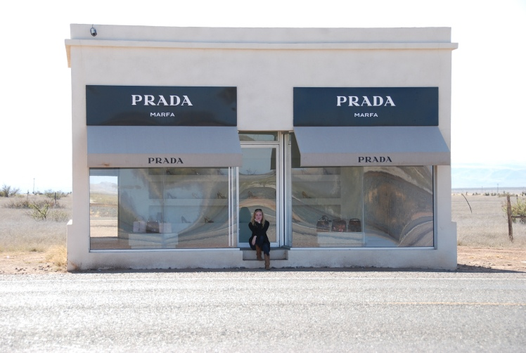 Prada Marfa, West Texas www.bluemesablog.com