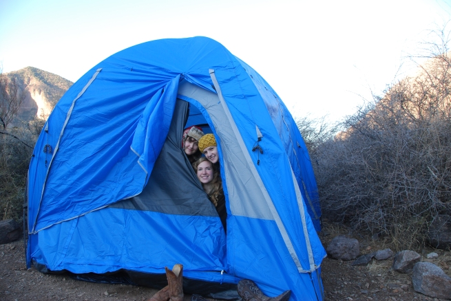 Tent Living, Big Bend National Park, West Texas www.bluemesablog.com