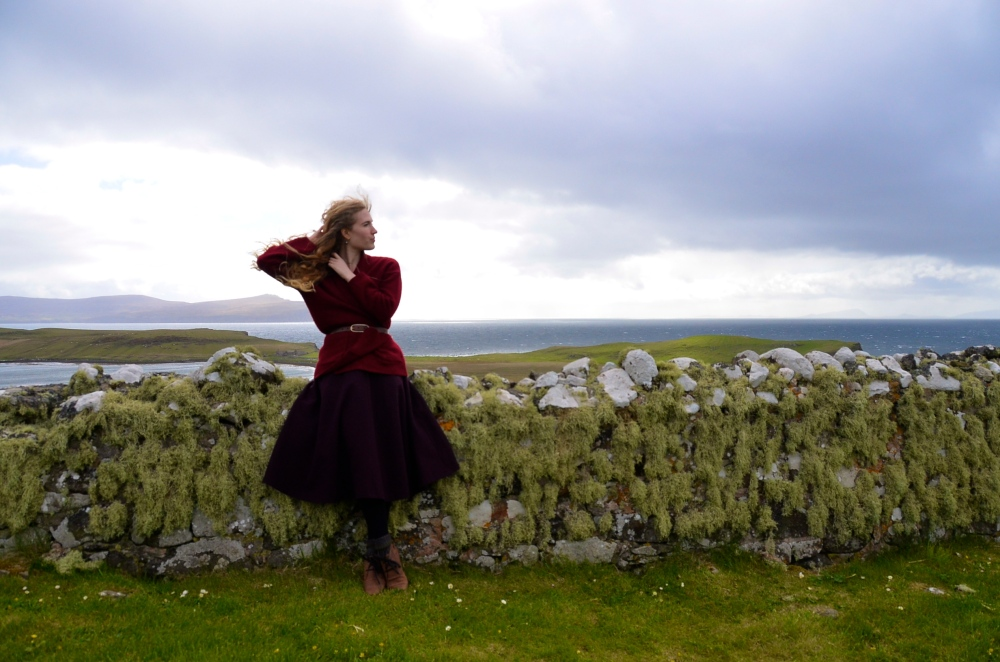 The Windswept Ruin, Trumpen Church, Isle of Skye, Scotland www.bluemesablog.com