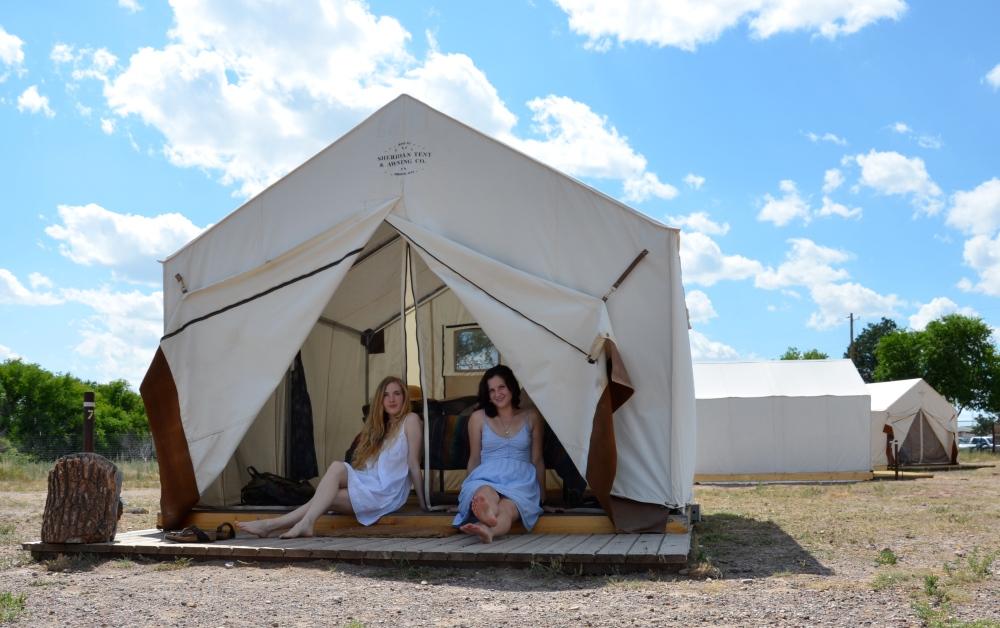 Summer Camp, El Cosmico, Marfa, West Texas www.bluemesablog.com