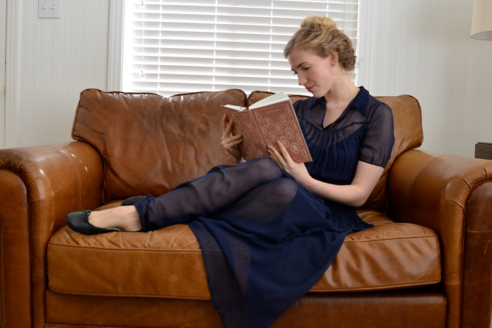 Middlemarch by George Eliot, Christy Dawn Winslet Dress, the reading woman www.bluemesablog.com